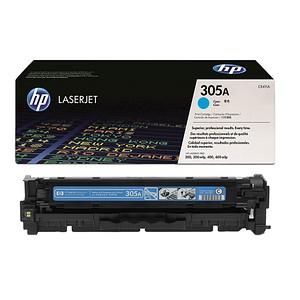 HP 305A (CE411A) cyan Tonerkartusche