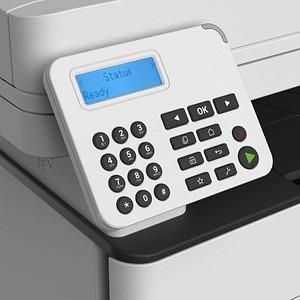 Lexmark MB2236adw 4 in 1 Laser-Multifunktionsdrucker grau