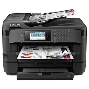 EPSON WorkForce WF-7720DTWF 4 in 1 Tintenstrahl-Multifunktionsdrucker schwarz