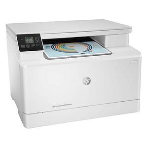 HP Color LaserJet Pro MFP M182n 3 in 1 Farblaser-Multifunktionsdrucker weiß