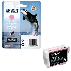 EPSON T7606 vivid light magenta Tintenpatrone