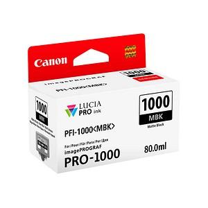 Canon PFI-1000 MBK mattschwarz Tintenpatrone