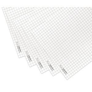 magnetoplan Flipchart-Papier kariert 65,0 x 93,0 cm, 20 Blatt, 5 Pack