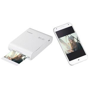 Canon SELPHY Square QX10 weiß Fotodrucker weiß