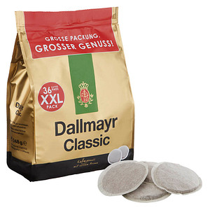 Dallmayr Classic Kaffeepads 36 Pads