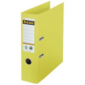 bene No.1 Ordner gelb Karton 8,0 cm DIN A4