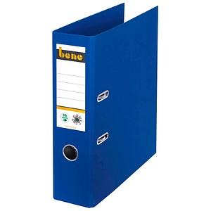 bene No.1 Ordner blau Karton 8,0 cm DIN A4