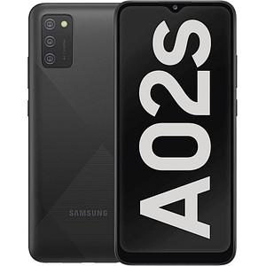 SAMSUNG Galaxy A02s Dual-SIM-Smartphone schwarz 32 GB