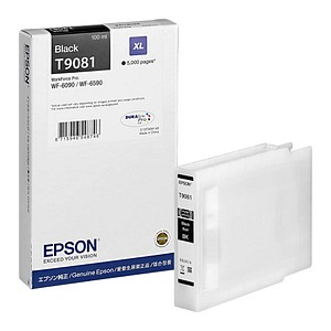 EPSON T9081XL schwarz Tintenpatrone