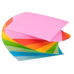 folia Notizwürfel Regenbogen farbsortiert
