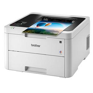 brother HL-L3230CDW Farb-Laserdrucker grau