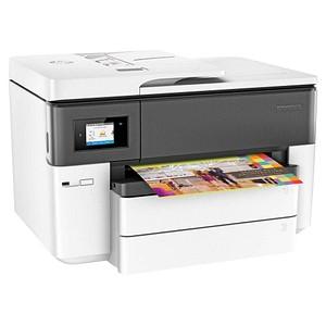 HP OfficeJet Pro 7740 Wide Format All-in-One 4 in 1 Tintenstrahl-Multifunktionsdrucker weiß