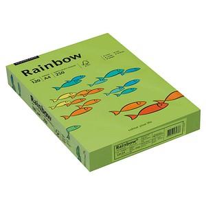 Rainbow Kopierpapier COLOURED PAPER leuchtend grün DIN A4 120 g/qm 250 Blatt