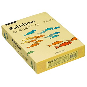 Rainbow Kopierpapier COLOURED PAPER gelb DIN A4 160 g/qm 250 Blatt