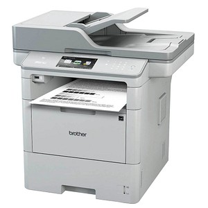 brother MFC-L6900DW 4 in 1 Laser-Multifunktionsdrucker grau