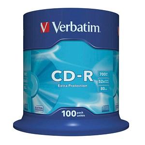100 Verbatim CD-R