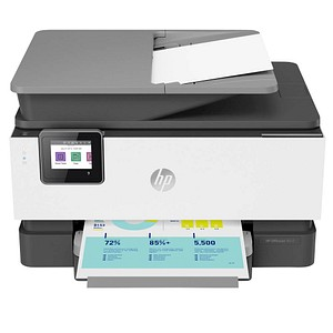HP OfficeJet Pro 9012 AiO 4 in 1 Tintenstrahl-Multifunktionsdrucker grau