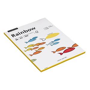 Rainbow Kopierpapier COLOURED PAPER gelb DIN A4 80 g/qm 100 Blatt