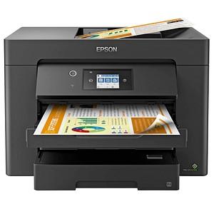 EPSON WorkForce WF-7830DTWF 4 in 1 Tintenstrahl-Multifunktionsdrucker schwarz