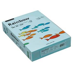 Rainbow Kopierpapier COLOURED PAPER mittelblau DIN A4 160 g/qm 250 Blatt