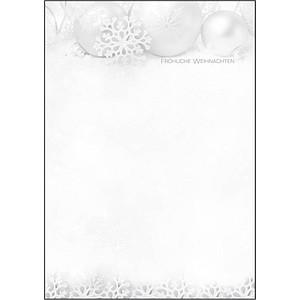 SIGEL Weihnachtsbriefpapier Winter Sparkle Motiv DIN A4 90 g/qm 100 Blatt