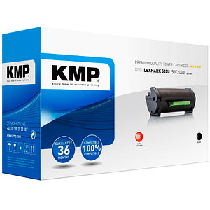 KMP L-T113 schwarz Toner ersetzt LEXMARK 50F2U00