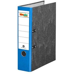 büroplus Ordner blau marmoriert Karton 8,0 cm DIN A4