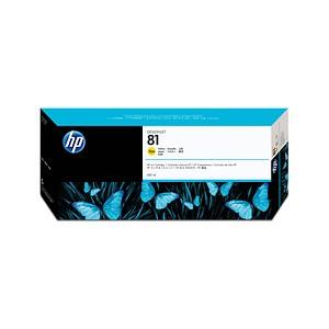 HP 81 (C4933A) gelb Tintenpatrone