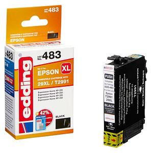 edding EDD-483 schwarz Tintenpatrone ersetzt EPSON 29XL / T2991XL