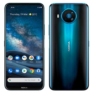 NOKIA 8.3 5G Dual-SIM-Smartphone polarnacht 128 GB