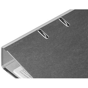 büroplus Ordner grau marmoriert Karton 8,0 cm DIN A4