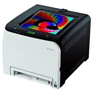 RICOH SP C261DNw Farb-Laserdrucker grau