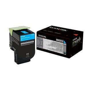 Lexmark 80C0X20 cyan Toner