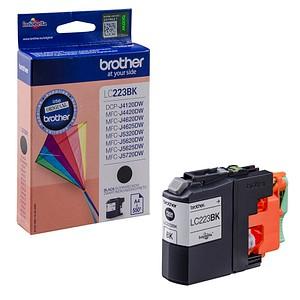 brother LC-223BK schwarz Tintenpatrone