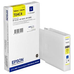 EPSON T04C4L gelb Tintenpatrone