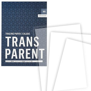 RÖMERTURM Transparentpapier Classic Line DIN A3   80 g/qm 1 Block