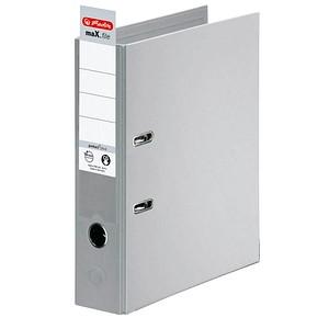 herlitz maX.file protect plus Ordner grau Kunststoff 8,0 cm DIN A4