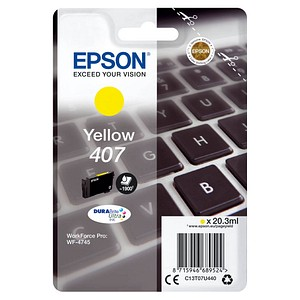 EPSON 407 / T07U4 gelb Tintenpatrone
