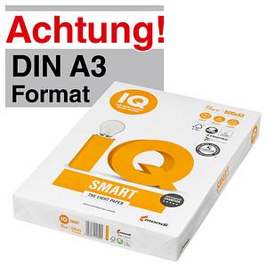 IQ Kopierpapier SMART DIN A3 75 g/qm