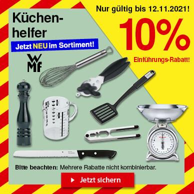 10% Rabatt auf Küchenhelfer