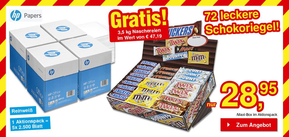GRATIS Snickers Box
